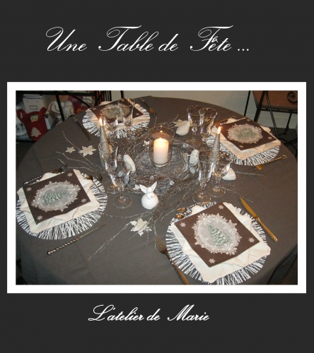 deco,table,idee,noel,fête